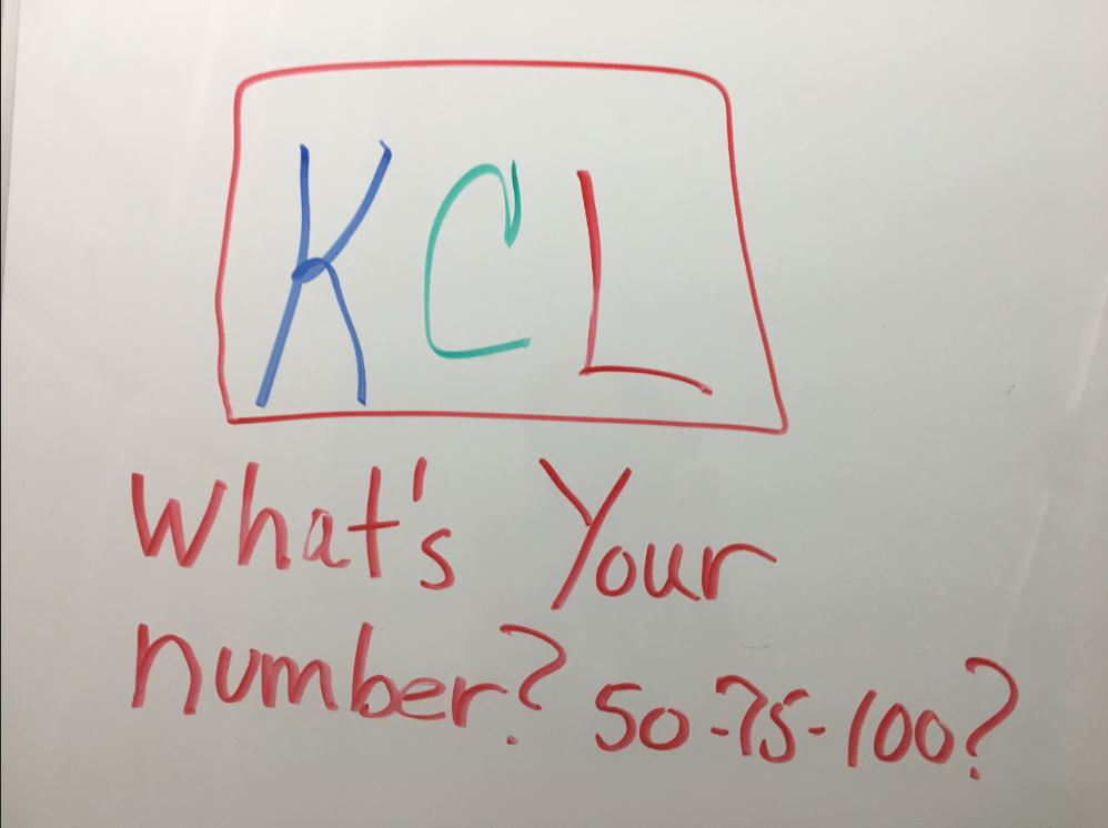 KCL number capture